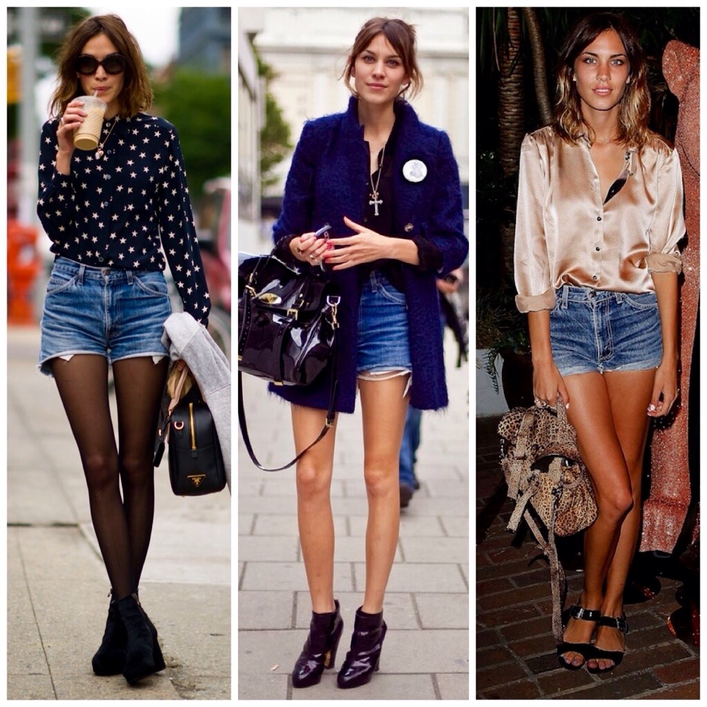 How to Wear High Waist Denim Shorts   SPOTTED   STREETSTYLE